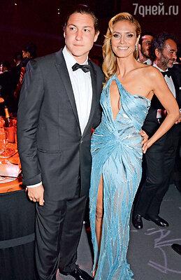 Хайди Клум «подобрала» любителя немолодых богатых женщин Вито Шнабеля после его романов с Деми Мур, ЭльМакферсон и Лив Тайлер