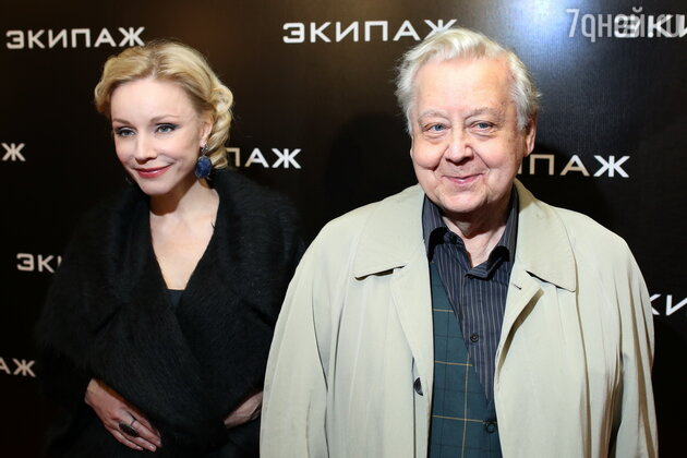 Марина Зудина, Олег Табаков