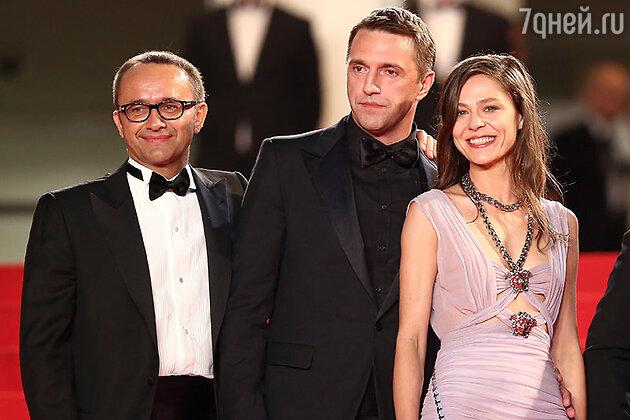Андрей Звягинцев, Владимир Вдовиченков и Елена Лядова