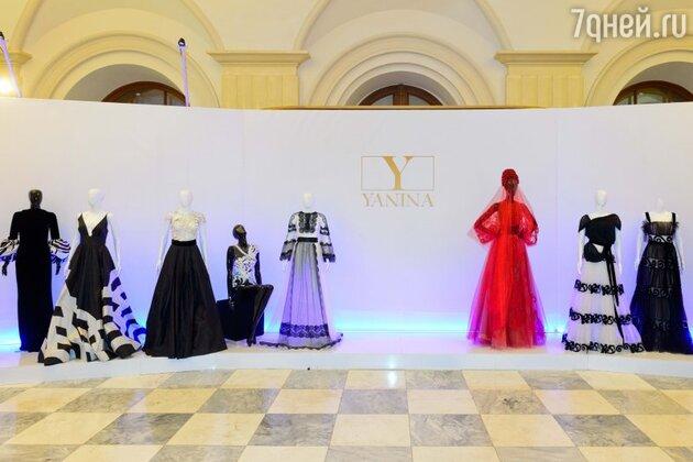 Праздник в честь двадцатилетия со дня основания Модного Дома Yanina.