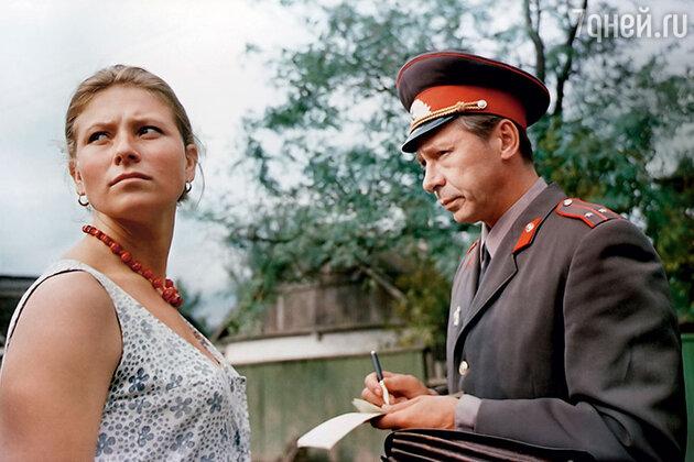 Олег Ефремов и Людмила Зайцева в фильме «Здравствуй и прощай». 1972 г.