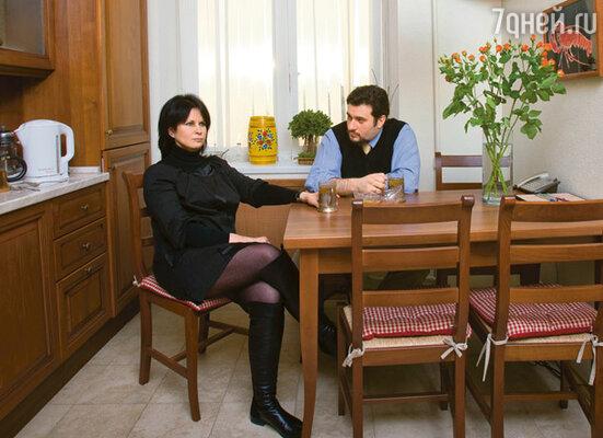 Ольга Ростропович с мужем