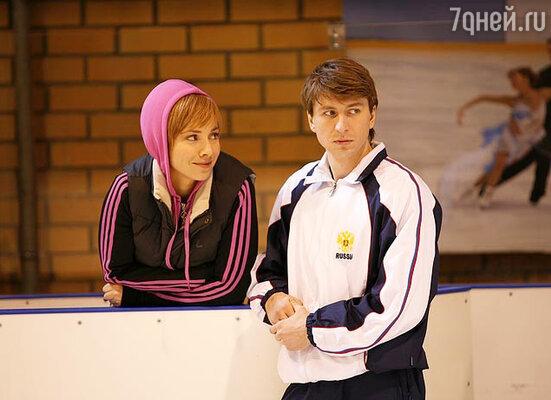 Алексей Ягудин в телесериале «Жаркий лед»