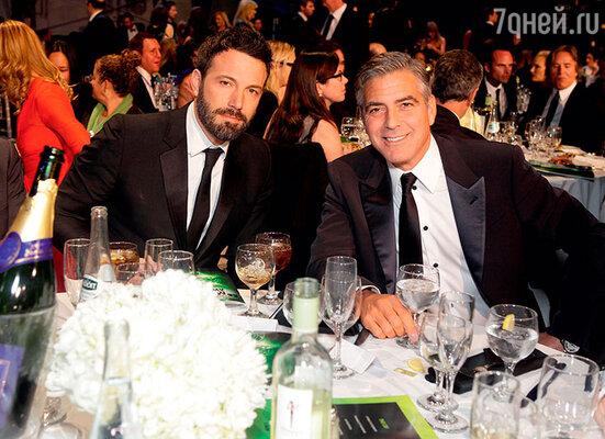 С Джорджем Клуни Бен дружит много лет