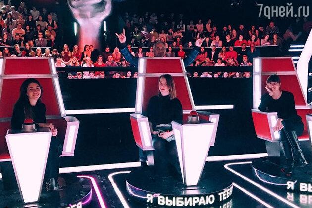 Валерий Меладзе с дочками: Ингой, Ариной и Софико