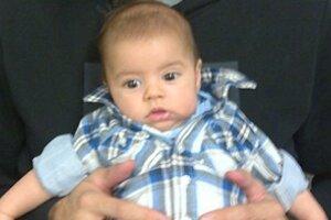 2-месячный сын Шакиры похож на отца