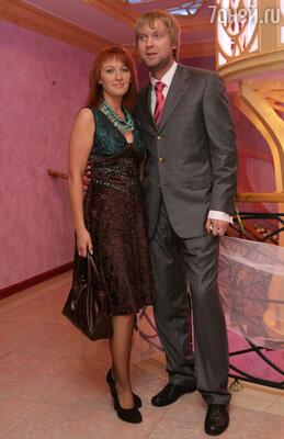 Сергей Светлаков и его жена Юлия