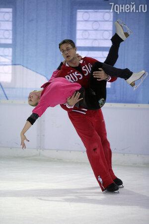Анна Семенович и Алексей Макаров