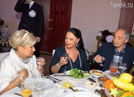 С Надеждой Бабкиной и Валентином Гафтом
