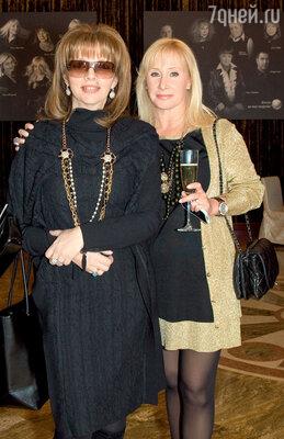 Екатерина Рождественская и Оксана Пушкина