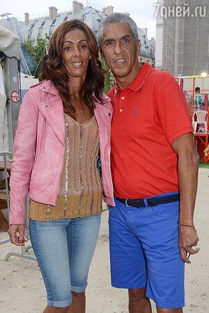 Сами Насери c с подругой Одри