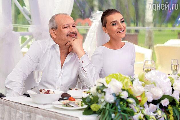 Дмитрий Марьянов с женой Ксенией
