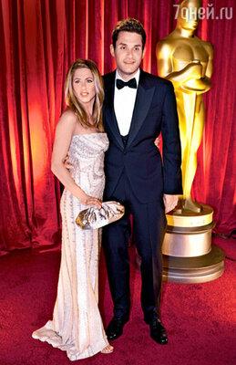 С Джоном Мэйером на церемонии вручения «Оскаров». Февраль 2009 г.