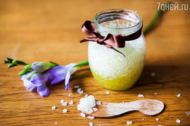 Скраб из морской соли