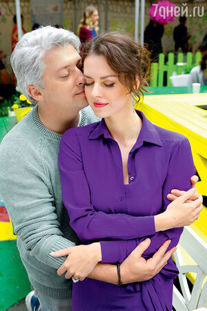 Лянка Грыу с мужем Михаилом Вайнбергом