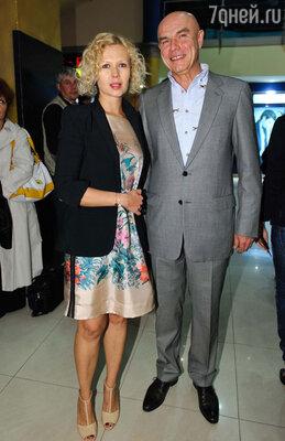 Сергей Мазаев с женой