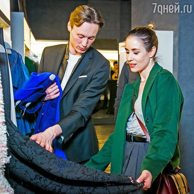 Ольга Сутулова и Владимир Славский