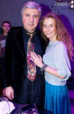 Сосо Павлиашвили с супругой