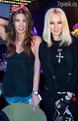 Кети Топурия и Лера Кудрявцева