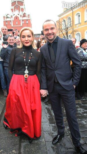Татьяна Буланова и Константин Костомаров