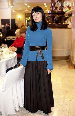 Нонна Гришаева на вручении премии «Пара года». 2012 г.