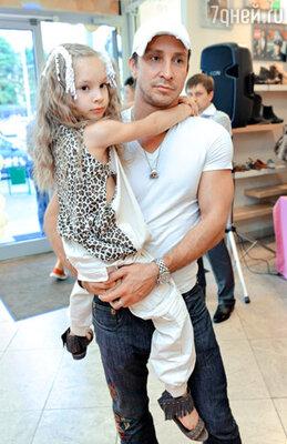 Данко с дочкой Соней