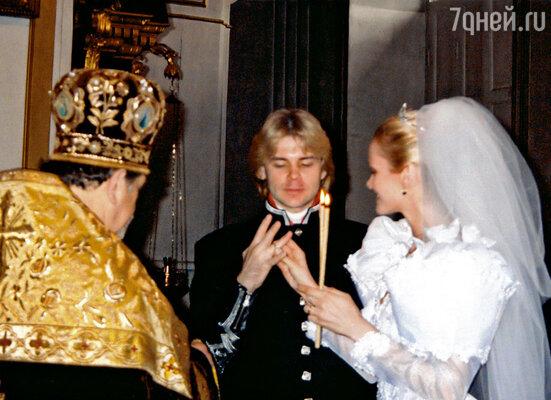 Нас венчал наш духовник отец Богдан