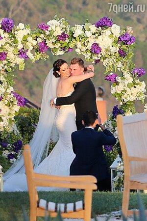 Свадьба Ника Картера и Лорен Китт
