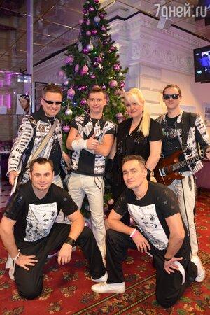 Маргарита Суханкина и группа «Мираж»