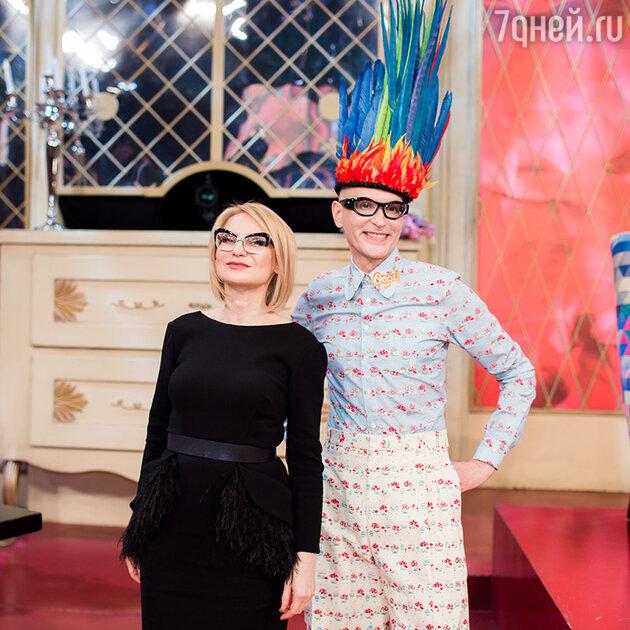 Андрей Бартенев и Эвелина Хромченко