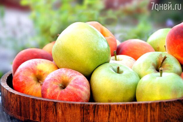 Яблоки — жемчужина осеннего диетического меню