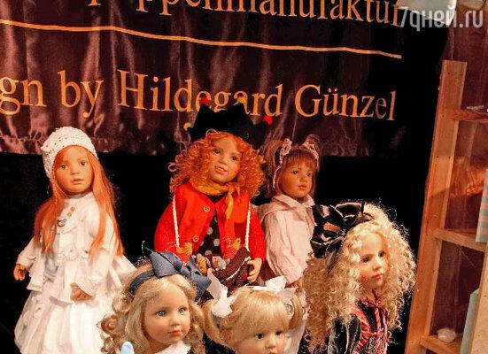 Экспозиция игрушек на Международной выставке-ярмарке кукол и медведей Тедди  «Moscow Fair» в Центре современного искусства М'АРС