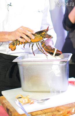 Шеф-повар Федерико Тино провел мастер-класс  высокой кухни