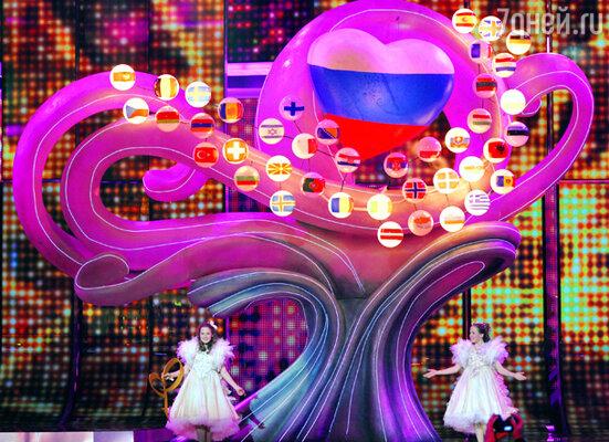 Начало конкурса песни «Евровидение» в Москве. СК «Олимпийский»