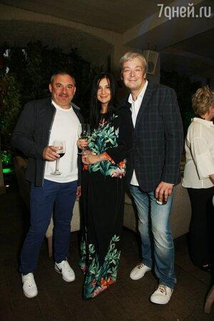 Николай Фоменко, Екатерина и Александр Стриженовы