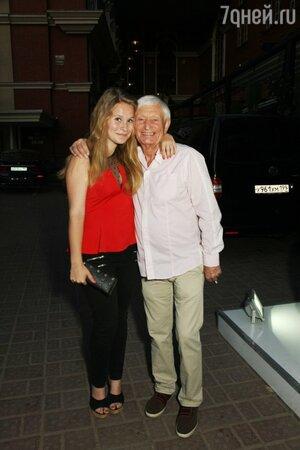 Дочь Леонида Агутина Полина и его отец Николай Петрович