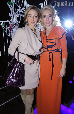 Анастасия Гребенкина и Татьяна Навка