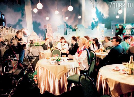 В 1998 году на РТР возродили традицию шаболовских новогодних «Голубых огоньков»