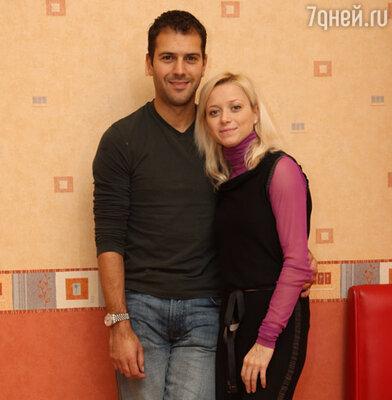 Елена Бережная и ее муж Казинс Стивен