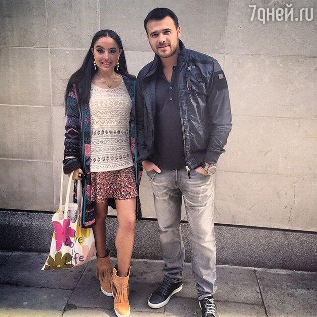 Эмин Агаларов и Лейла Алиева