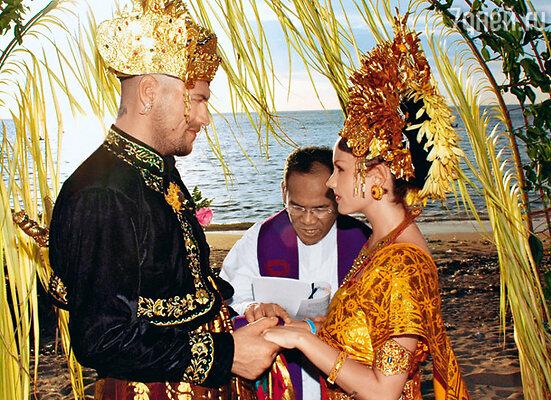 Венчание на Бали