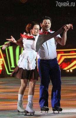 Михаил Галустян и Мария Петрова