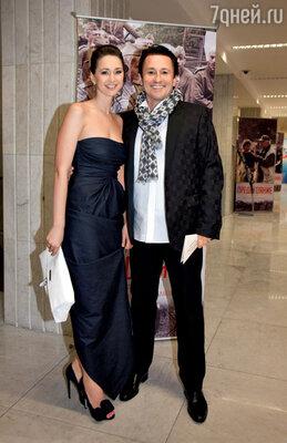 С женой Анастасией вКремле на премьере фильма «Утомленные солнцем 2: Предстояние»