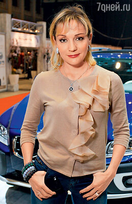 Татьяна Буланова на Неделе моды в Москве. 2011 г.