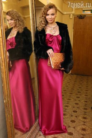 Татьяна Арнтгольц на премии «Ника» в 2009 году