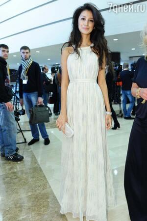 Равшана Куркова на премии «Ника» в 2012 году