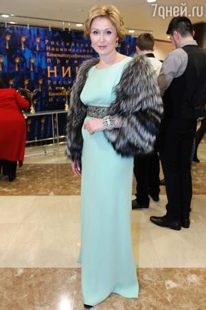 Елена Ищеева на премии «Ника» в 2012 году
