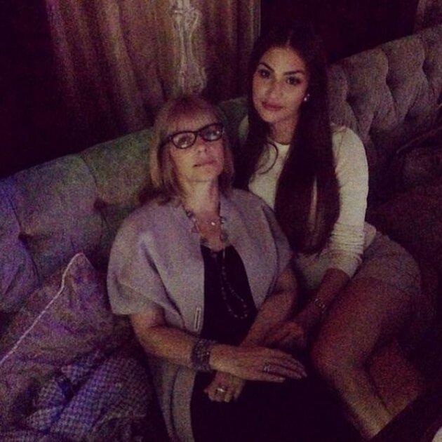 Вера Глаголева с дочкой Настей Шубской