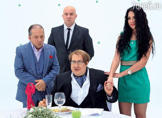 В свите «олигарха» Нагиева — Андрей Федорцов, Станислав Барковский и Варя Третьякова из «Дома-2»