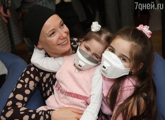 Дина Корзун и Чулпан Хаматова учредили благотворительный фонд помощи детям с тяжелыми заболеваниями «Подари жизнь»